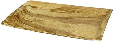 """Leafware Whole Leaf Platter (10 Pack), 14 x 10"""", Natural...NEW"""