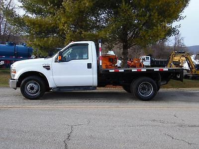 2008 Ford F350 Super Duty Diesel Flatbed Truck