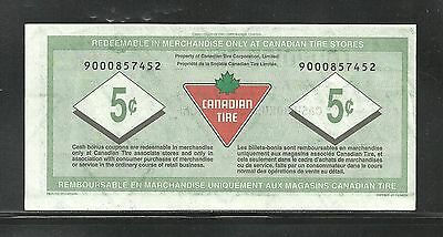 Canadian Tire Replacement Note  9000857452