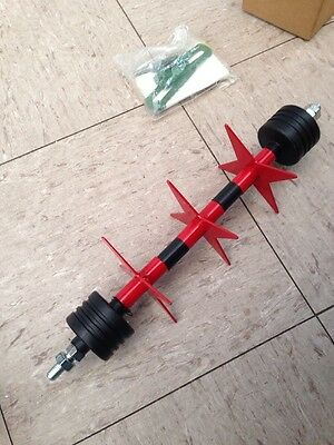 Lawn Spiker Silverthorn Roto-spike For Most  12 Inch Cylinder Mowers New