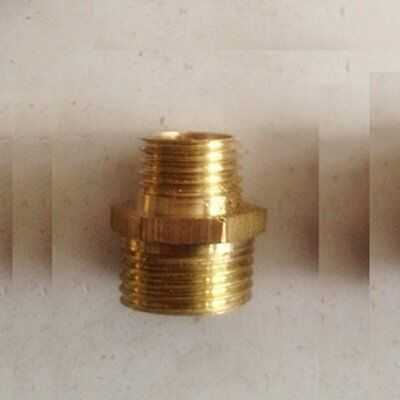 """Fitting Male Pipe 1//2/"""" BSP BSPP to Metric M16X1 M16X1.0 Adapter Brass #G1"""