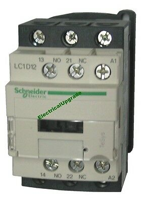 Schneider Electric Offer (LC1D12U7) 3 Pole Contactor ; 5.5kW  ; 240V AC Coil