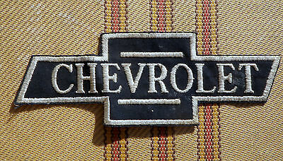 Vintage Bow Tie CHEVROLET Embroidered Uniform Jacket Patch  8""