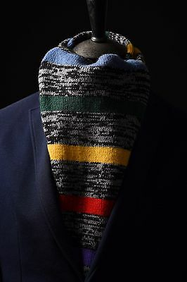 Genuine Paul Smith Signature Stripe Wool Scarf RRP £120 (MINT)