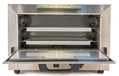 New 2-Tray 110V SteriDent Dry Heat Sterilizer Dental, Medical, Tattoo