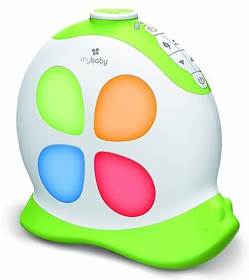 myBaby SoundSpa Sleepy Snail Projection Light and Noise Machine Therapy Soothing