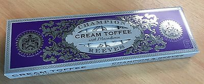 Champion and Reeves Cream Toffee with Macadamia - Luxury Confectionery
