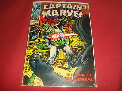 CAPTAIN MARVEL #7  Silver Age Marvel Comics 1968 VG-