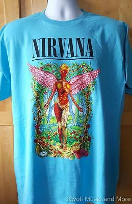 """NIRVANA T-Shirt  """"Forest In Utero""""  Official/Licensed  S, M, L, XL, 2XL     NEW"""