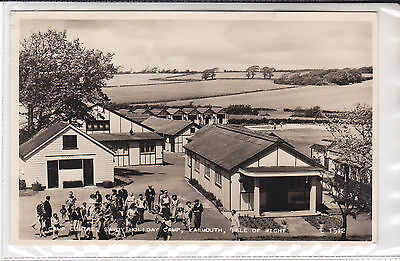 Vintage Postcard Camp Centre, Savoy Holiday Camp, Yarmouth, Isle Of Wight