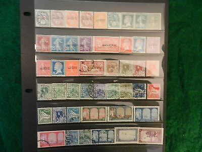 LOT OF 142 ALL DIFFERENT mint & used *ALGERIA - PRE-INDEPENDENCE*  STAMPS W/ BOB
