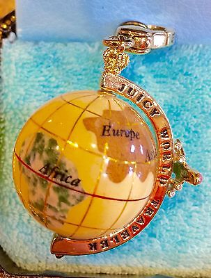 Nwot Juicy Couture World Traveler Globe Charm, Extremely Hard To Find!!!!