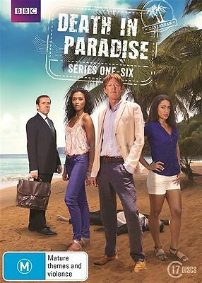 Death In Paradise complete Season Series 1, 2, 3, 4, 5 & 6 DVD Box Set R4 New