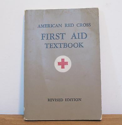 American Red Cross First Aid Textbook Revised Edition 1945