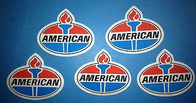 5 Lot Rare 1990's American Oil Racing Sponsor Hat Jacket Iron On Patches Crest A