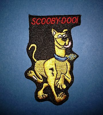 Scooby Doo Iron On Embroidered Hat Jacket Hoodie Backpack Patch Crest E