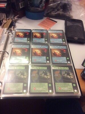 Lego Bionicle Quest For The Masks TCG! 1-309! Foil Cards! Rares!