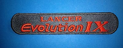 Toyota Lancer Evolution IX Car Auto Club Iron On Hat Jacket Seat Cover Patch