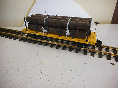 Bachmann  G Scale Logging Truck With Logs