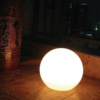 LED Rechargeable Floating Glow Ball Light Lamp – 25cm Light Colour Changing Wate