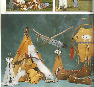 Leather & Suede Craft Project Patterns Shirts Breastplate Dream catcher Drum X07