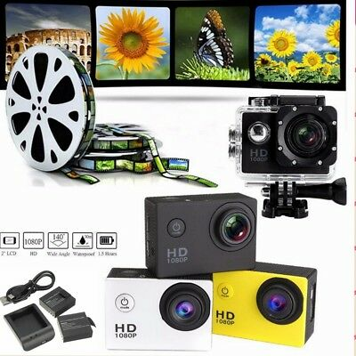 2.0'' LCD SJ4000 A7 HD 720P Waterproof Sports Action DV Video Camera Camcorder
