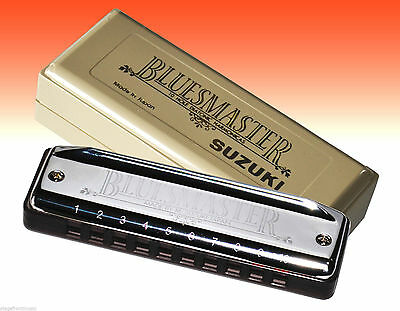 Suzuki Bluesmaster Harmonica. Choose Your Key Mr-250 - New