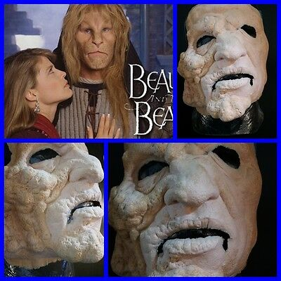 BEAUTY AND THE BEAST made by RICK BAKER Ron Perlman classic tv movie prop