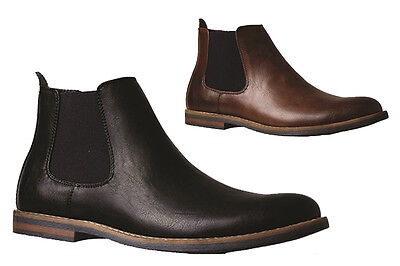 Mens Boots Julius Marlow 33 Manny Black or Brown Pull on Boot Size UK 6-12 Shoes