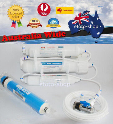 50GPD Portable Reverse Osmosis Water Filter | RO Purified + Membrane + Filters