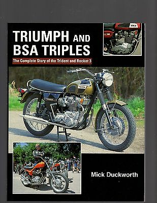 Triumph and BSA Triples by Mick Duckworth