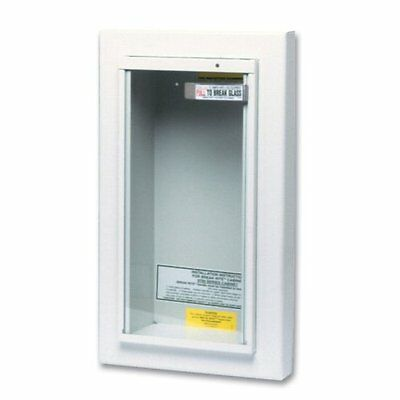 Kidde 468044 Potter Roemer Semi-Recessed 5-Pound Fire Extinguisher Cabinet