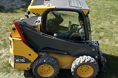 2014 Volvo MC70C Skid Steer Loader 405HRS Cab Heat Air Conditioned Bobcat Plate