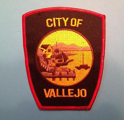 Rare City Of Vallejo California Employee Uniform Jacket Collectable Patch Crest