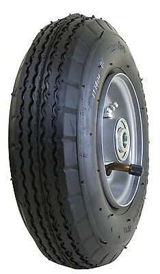 Marathon 2.80/2.50- 4 Pneumatic Air Filled All Purpose Utility Tire on Wheel, 3