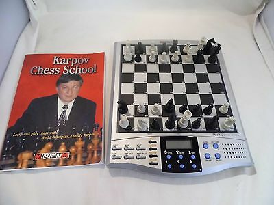 Talking Chess School Anatoly Karpov - Learn and play Chess, Boxed Complete