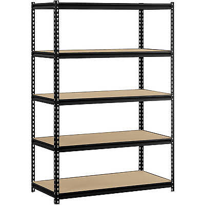 "High Capacity 4000 lbs Steel Shelving Edsal 48""W x 24""D x 72""H Tool Storage"
