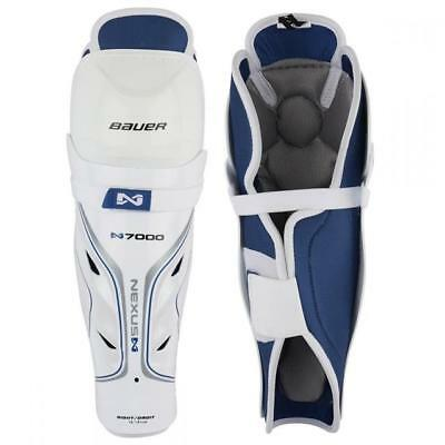 Bauer Nexus N7000 Ice Hockey Shin Pads / Guards - Junior & Senior Sizes