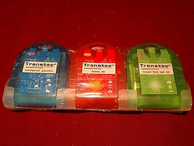 Washproof Plasters, Burns Kit and Travel First Aid Kit - medical grade