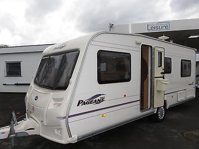 Bailey Pageant Burgundy, 4 Berth Touring Caravan With Fixed Bed ................