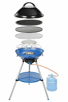 Campingaz Party Grill 600 Camping Stove/bbq/grill/griddle.compact Easy Clean