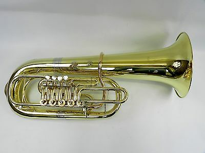 Tuba Amati F  CFB 651 - 5 PX + MINIBALL After Complete renovation for student 26