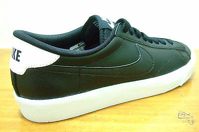 Original Mens Nike Tennis Classic Ac Black Leather Sports Casual Retro Trainers