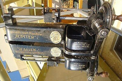 Jupiter 1 (G) Bleistiftschärfmaschine Guhl & Harbeck old german pencil sharpener