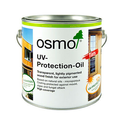 Osmo UV Protection Oil Tints 424 Spruce 425 Oak 426 Larch 427 Fir 428 Cedar 429