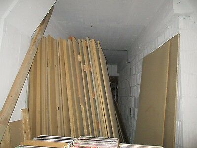 "LUMBER MDF Panel Common Chipboard/Press Wood Lumber 3/4"" X 4ft X 8ft LOT Of 50"