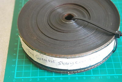 The Greatest Story Ever Told 35mm rare film trailer 1965 - REEL HAS PINKED