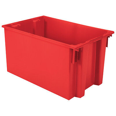 Akro-Mils Nest & Stack Tote 35300 Red 29-1/2 x 19-1/2 x 15  3 pk
