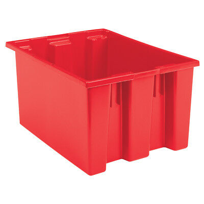 Akro-Mils Nest & Stack Tote 35230 Red 23-1/2 x 19-1/2 x 13  3 pk