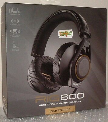 Plantronics RIG 600 High-Fidelity Stereo Gaming Headset Playstation 4  XBOX ONE